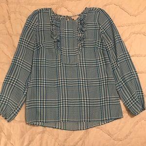 J.Crew long sleeve blouse.